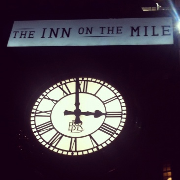 The Inn on the Mile, un joli pub